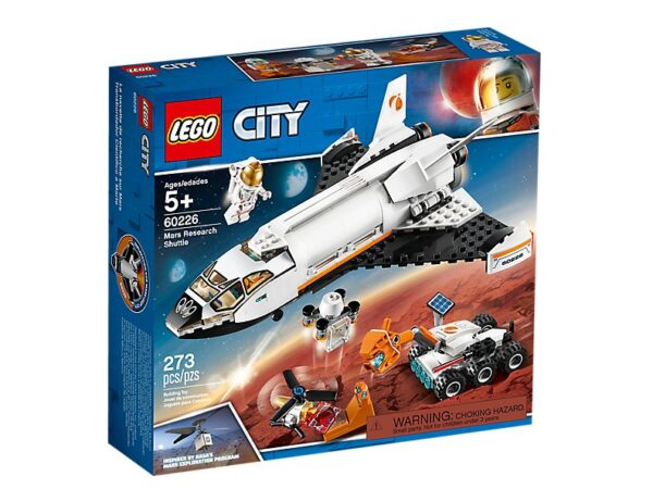 Lego Mars Research Shuttle-3565