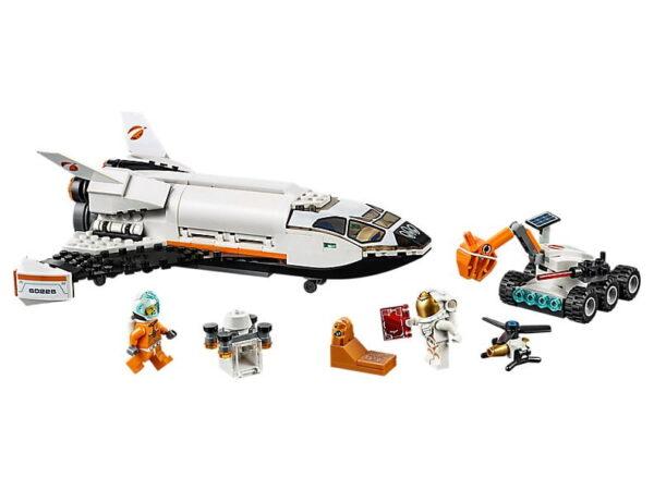 Lego Mars Research Shuttle-3566