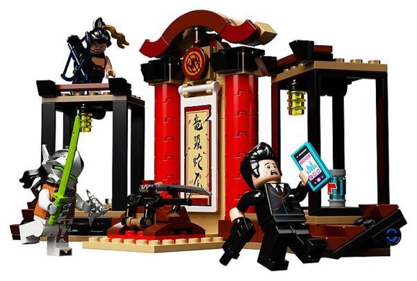 Lego Hanzo vs Genji-0