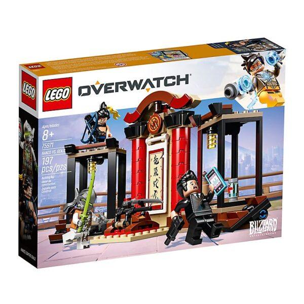 Lego Hanzo vs Genji-3622