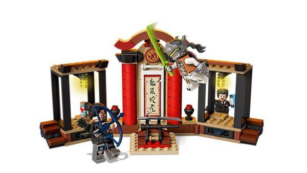 Lego Hanzo vs Genji-3623