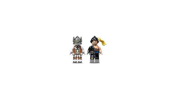 Lego Hanzo vs Genji-3624