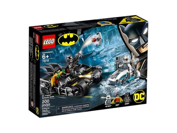Lego MR Freeze Batcycle Battle-3638