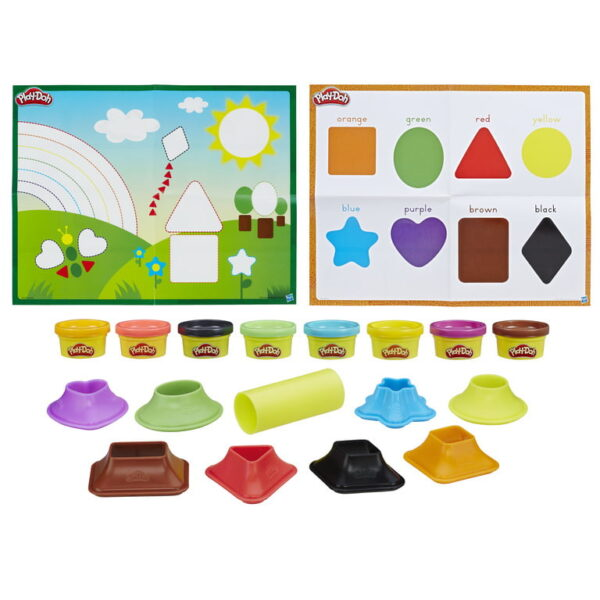 Play- Doh Colours & Shapes-3742