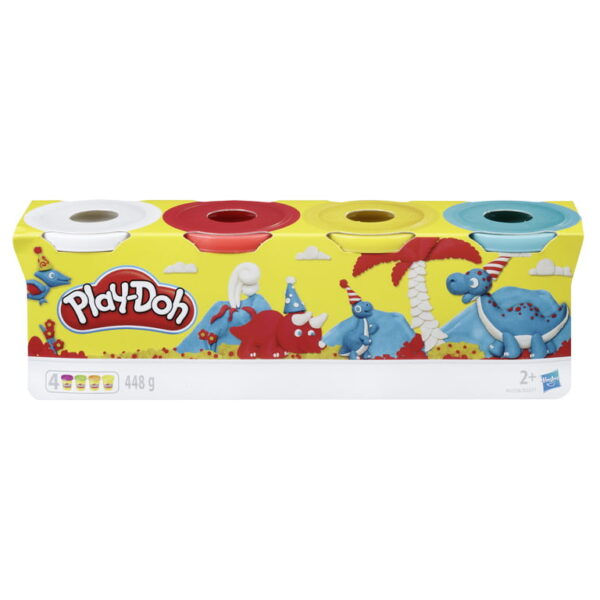 Playdoh 4 Pack Classic Colours-3819