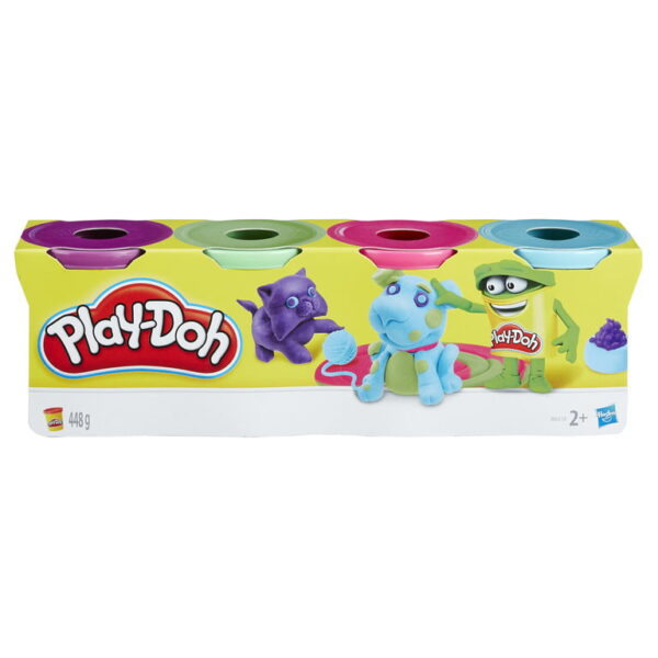 Playdoh 4 Pack Classic Colours-0