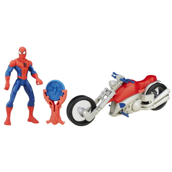 Spider Man 6 Inch Fig With Cyc