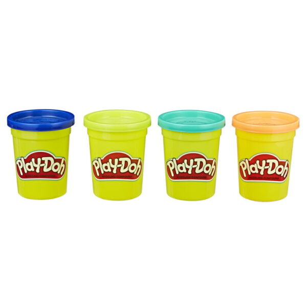 Playdoh 4 Pack Classic Colours-3817