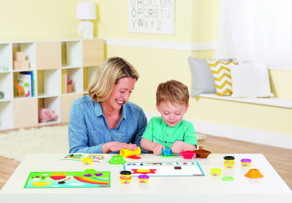 Play- Doh Colours & Shapes-3743