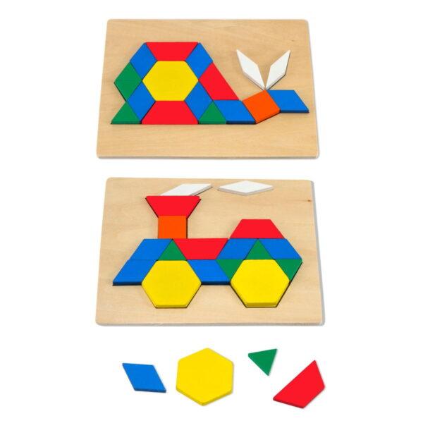 Melissa and Doug Pattern Blocks & Boards-4288