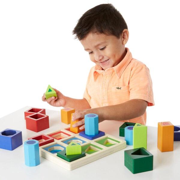 Melissa and Doug Shape Sorting Cube-4354
