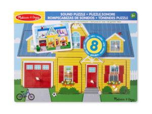Melissa and Doug Around The House Puzzle-0