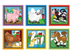 Melissa and Doug Farm Cube Puzzle-0