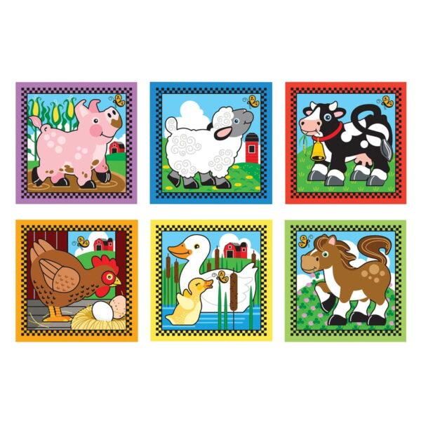 Melissa and Doug Farm Cube Puzzle-0