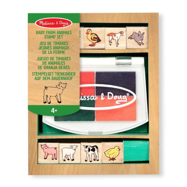 Melissa and Doug Stamp Set Farm Animal-4438