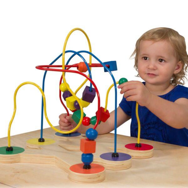 Melissa and Doug Classic Toy Bead Maze-4436