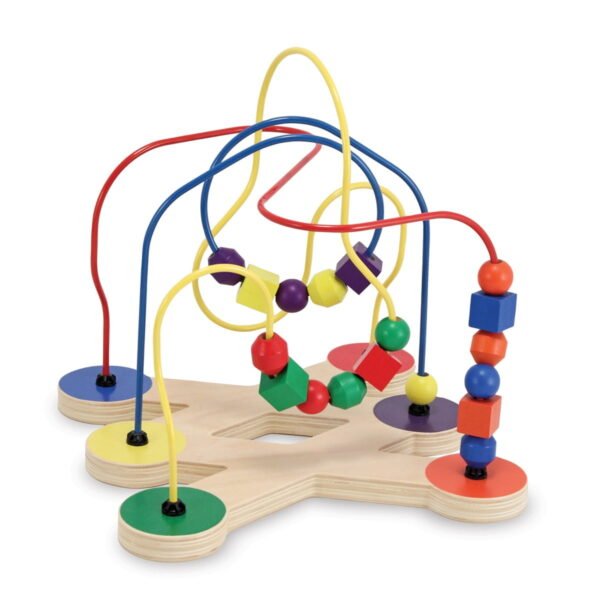 Melissa and Doug Classic Toy Bead Maze-4435