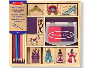 Melissa and Doug Princess Stamp Set-0