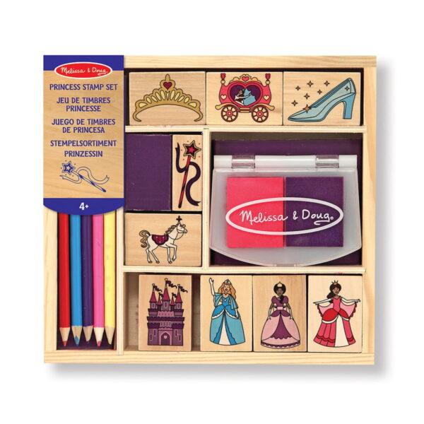 Melissa and Doug Princess Stamp Set-0