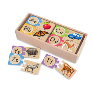 Melissa and Doug See Inside Alphabet Peg-0