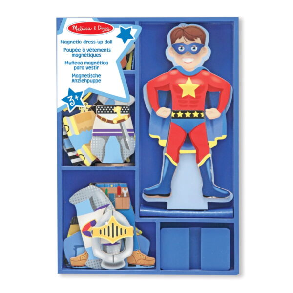 Melissa and Doug Billy Magnetic Dress up-4510