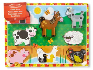 Melissa and Doug Farm Chunky Puzzle-0