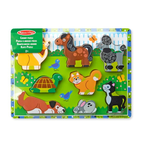 Melissa and Doug Pets Chunky Puzzle-0