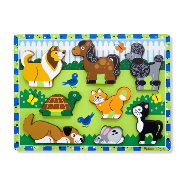 Melissa and Doug Pets Chunky Puzzle-4526
