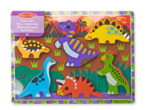 Melissa and Doug Dinosaurs Chunky Puzzle-0
