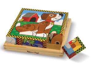 Melissa and Doug Pets Cube Puzzle-0