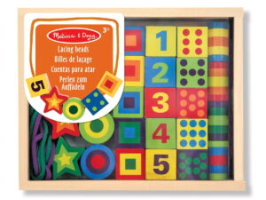 Melissa and Doug Lacing Beads in a Box-0