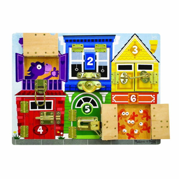 Melissa and Doug Latches Board-4551