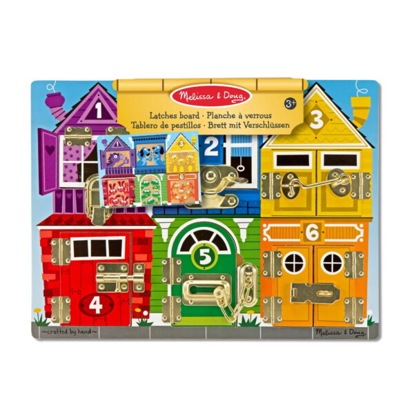 Melissa and Doug Latches Board-0