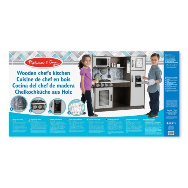 Melissa and Doug Chef's Kitchen Charcoal-4570