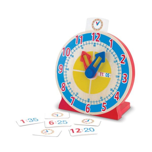 Melissa and Doug Turn & Tell Clock -4600