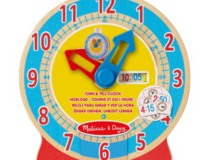 Melissa and Doug Turn & Tell Clock -0