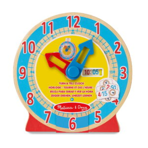 Melissa and Doug Turn & Tell Clock -0
