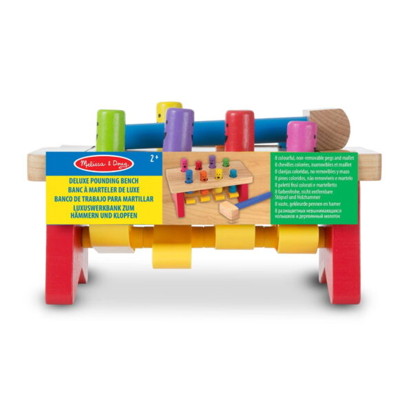 Melissa and Doug Deluxe Pounding Bench-0