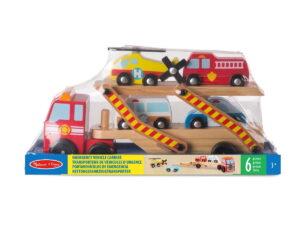 Melissa and Doug Emergency Vehicle Carrier-0