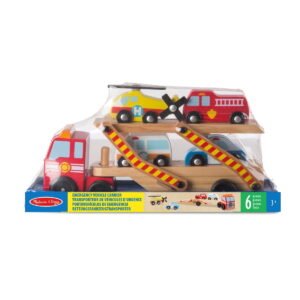Melissa and Doug Emergency Vehicle Carrier-0