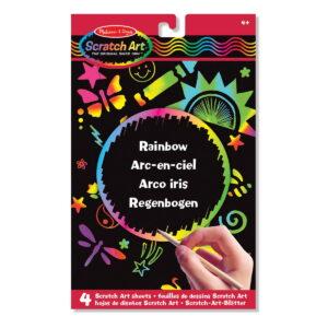 Melissa and Doug Scratch Art Sheets Rainbow-0
