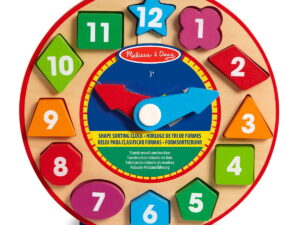 Melissa and Doug Shape Sorting Clock-0