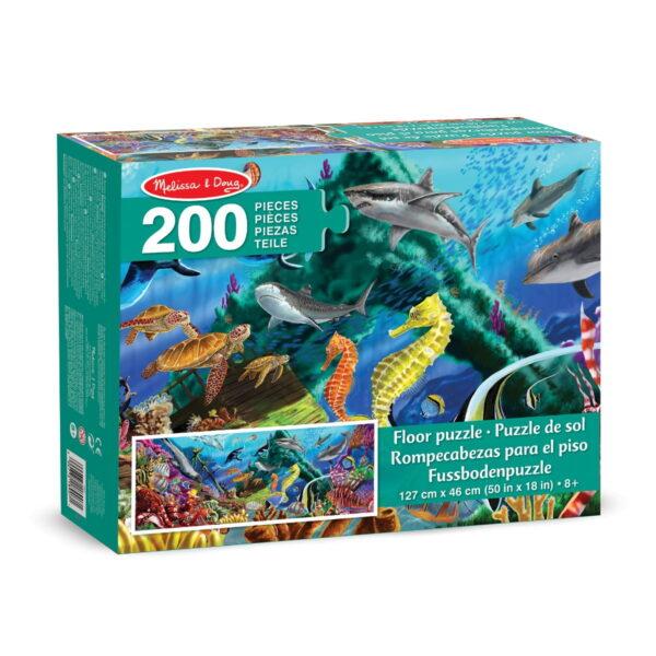 Melissa and Doug Underwater Oasis Floor Puzzle-4815
