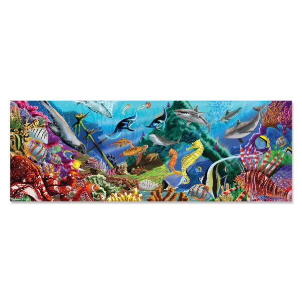 Melissa and Doug Underwater Oasis Floor Puzzle-0
