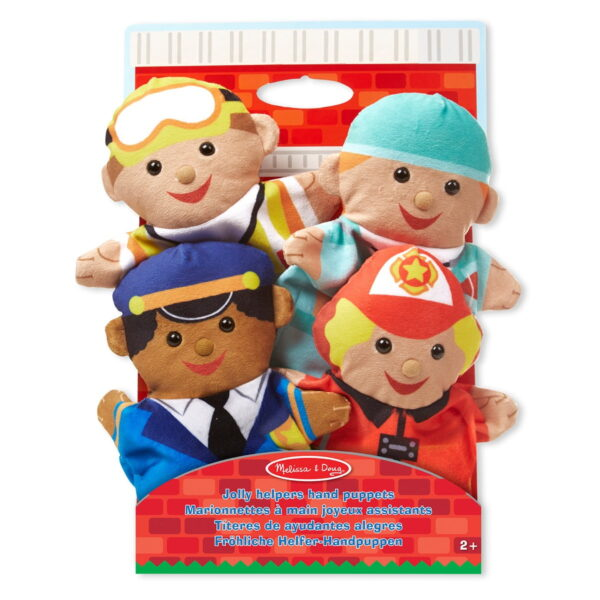 Melissa and Doug Jolly Helpers Hand Puppets-0