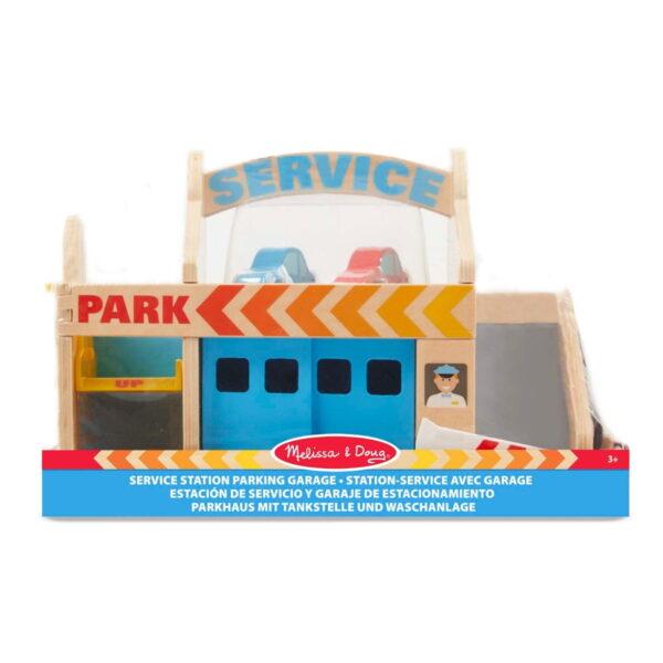 Melissa and Doug Service Station Garage-4889