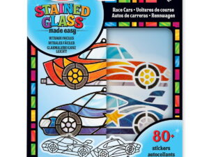 Melissa and Doug Stained Glass Race Cars-0