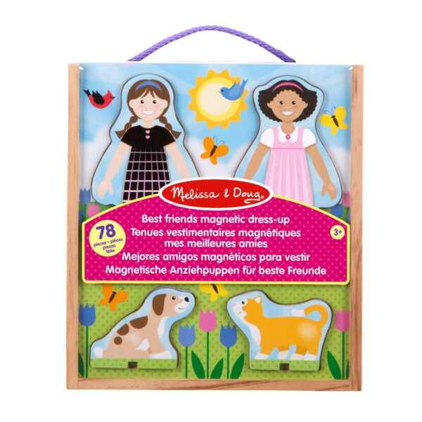 Melissa and Doug Best Friends Magnetic Dress Up-0