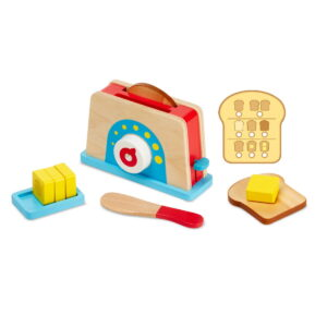 Melissa and Doug Bread & Butter Toaster Set-0