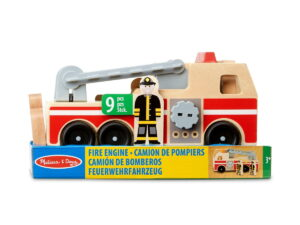 Melissa and Doug Giant Fire Truck Floor 48pc-0